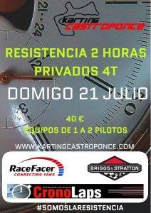 RESISTENCIA 2 H PRIVADOS @ KARTING CASTROPONCE